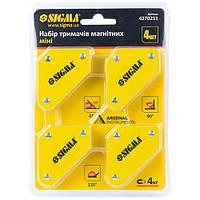 Набір тримачів магнітних міні 4 шт. SIGMA