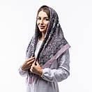 Кашемірова хустка з принтом 90х90см, фото 5
