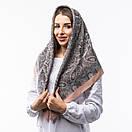 Кашемірова хустка з принтом 90х90см, фото 4