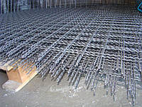 Сетка рифленая канилированная - 3,0 (4,0; 5,0) - 25 мм х 25 мм (неоцинкованная)