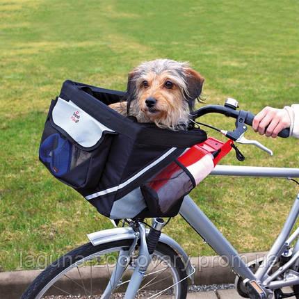 Сумка для перевозки собак до 6кг на велосипеде /передняя, фото 2