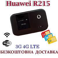 Мобильный модем 3G 4G WiFi Роутер Huawei R215 Киевстар, Vodafone, Lifecell с 2 выходами под антенну MIMO