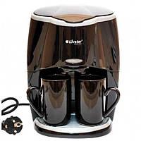Кофеварка капельная с чашками LIVSTAR LSU-1190 кофемашина для дома