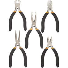 Набор инструментов Topex плоскогубцев и кусачек прецизионных, 5 шт (32D755)