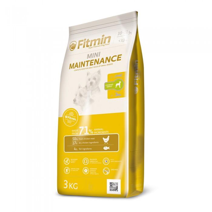 Сухой корм для собак мелких пород Fitmin Dog Mini Maintenance 3 кг