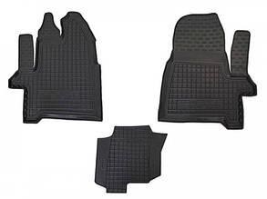Авто килимки в салон Ford Custom / Форд Кастом 2012- (1+2)(Перший ряд)