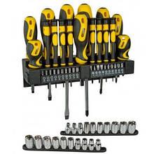 Набор инструментов Stanley отверток, головок, вставок 57 шт. (STHT0-62143)