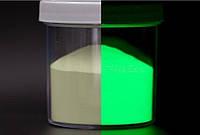 Люмінісцентний порошок білий/зелений 50 гр, фото 1