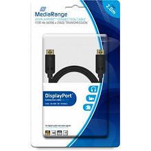 Кабель мультимедийный Display Port to Display Port 2.0m MediaRange (MRCS159)