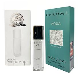 Pheromone Formula Azzaro Chrome Aqua мужской 40 мл