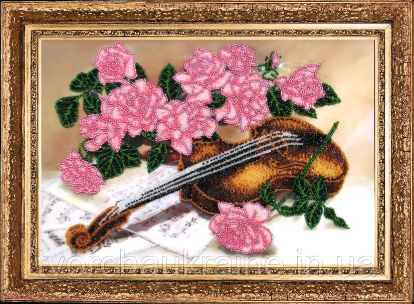 """Набор для вышивки бисером """"Сюита для скрипки"""""""