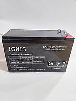 Акумуляторна батарея 12 Вольт (8 А/Год). Для автономного(резервного) живлення., фото 1
