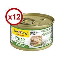 GimDog Little Darling Pure Delight консерви для собак (курка і ягня) 85г*12шт