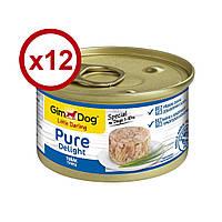 GimDog Little Darling Pure Delight консерви для собак (тунець) 85г*12шт