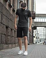 Футболка Андер серая + Шорты Андер черные (Арт. 0134-0138)