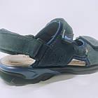 Кожаные детские сандалии мальчикам, фото 7
