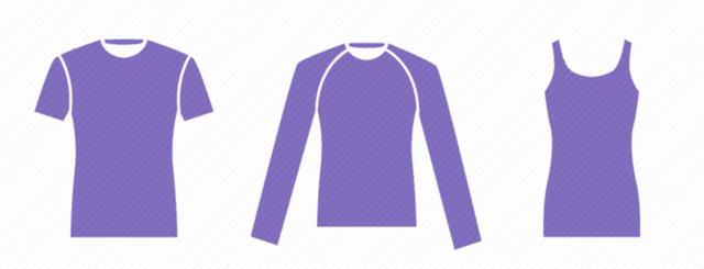 5 типов рукавов футболки