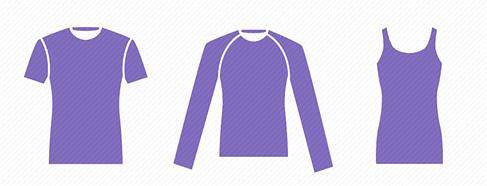 5 типов рукавов|5 типів рукавів футболки