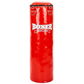 Мешок боксерский Цилиндр ПВХ h-100см BOXER Классик 1003-03 (наполнитель-ветошь х-б, d-33см, вес-26кг)