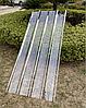 Поликарбонат литой волновой прозрачный 910х2000х1 мм