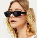 Узкие солнцезащитные очки ретро сонцезахисні окуляри, фото 2