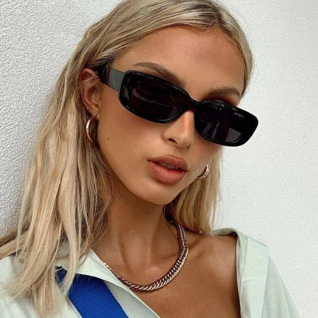 Узкие солнцезащитные очки ретро сонцезахисні окуляри