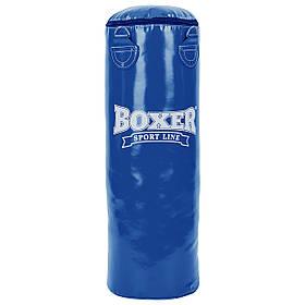Мешок боксерский Цилиндр ПВХ h-80см BOXER Классик 1003-04 (наполнитель-ветошь х-б, d-28см, вес-19кг)