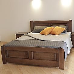Ліжко дерев'яне двоспальне Афродіта (масив бука)