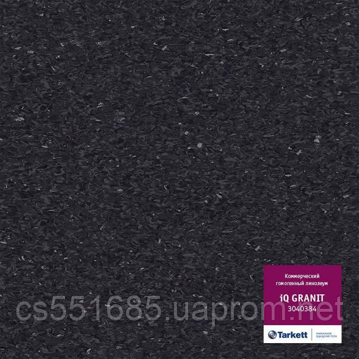 3040384 - коммерческий линолеум гомогенный 34 класс, коллекция IQ Granit (Гранит) Tarkett (Таркетт)