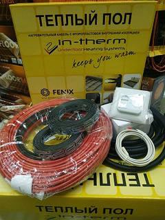 8м2 Тепла підлога електрична (6.4 -8 м2) IN-THERM ECO 1300W Fenix