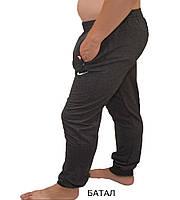 Штани чоловічі спортивні манжет батал (56-64) купити оптом від складу 7 км, фото 1