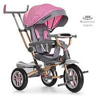 Велосипед трехколесный TURBOTRIKE M 4058-15 Розовый