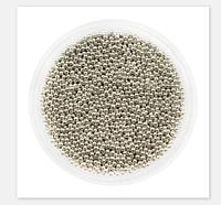 Бульонки срібло для нігтів (манікюру)