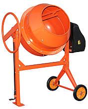 Бетономешалка Кентавр БМ-125М (оранжевая)