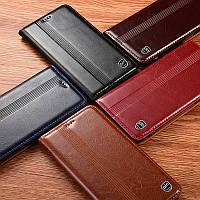 """Чехол книжка из натуральной кожи магнитный противоударный для Xiaomi Redmi 5A """"ITALIAN"""""""
