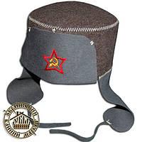 """""""Ушанка"""" - шапка для бани и сауны, шерсть"""