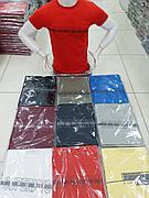 Мужская  молодежная футболка качество хлопок с лайкрой разные цвета Турция