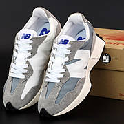Женские кроссовки в стиле New Balance 327 | Grey White