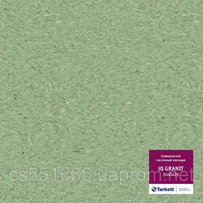 3040426 - коммерческий линолеум гомогенный 34 класс, коллекция IQ Granit (Гранит) Tarkett (Таркетт)