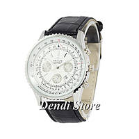 Часы Breitling Chronometre Navitimer Black-Silver-White 1002-0015