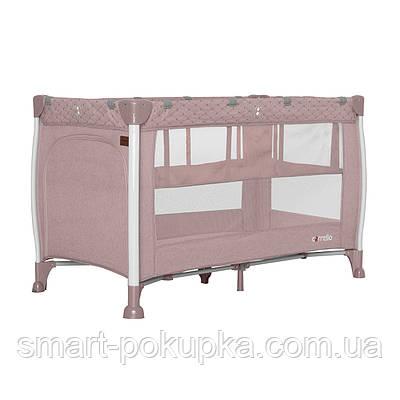 Манеж CARRELLO Polo+ CRL-11606 Flamingo Pink /1/