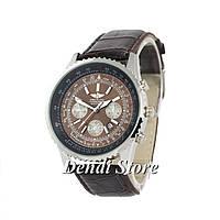 Часы Breitling Chronometre Navitimer Brown-Silver-Black-Brown 1002-0017