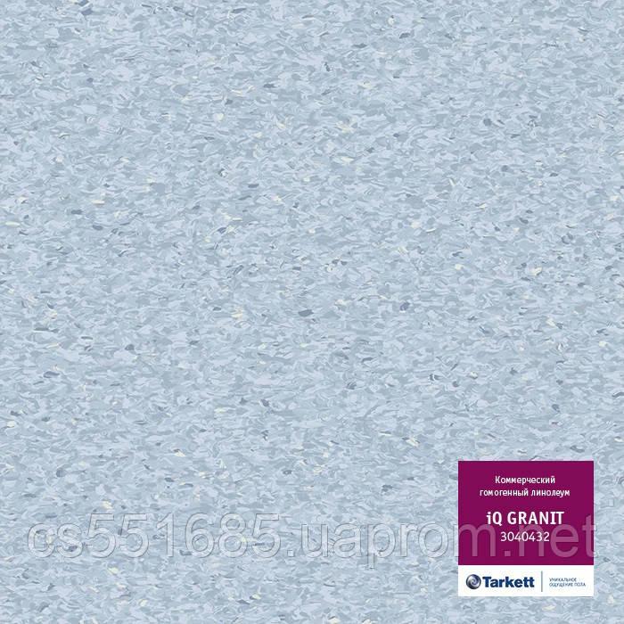 3040432 - коммерческий линолеум гомогенный 34 класс, коллекция IQ Granit (Гранит) Tarkett (Таркетт)