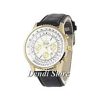 Часы Breitling Chronometre Navitimer Black/Gold/White 1002-0019