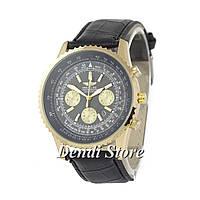 Часы Breitling Chronometre Navitimer Black-Gold-Black 1002-0020