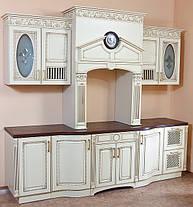 """Альфа-мебель; Кухни """"Классика"""" МДФ Патина , фото 3"""