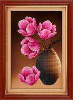 Набор для рисования камнями (холст) 5D Любовное послание LasKo