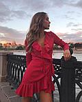 Женское платье, супер - софт, р-р универсальный 42-46 (красный), фото 2