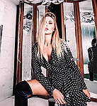 Женское платье, супер - софт, р-р универсальный 42-46 (чёрный), фото 2