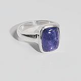 Серебряное кольцо с Танзанитом, 1698КТ, фото 2